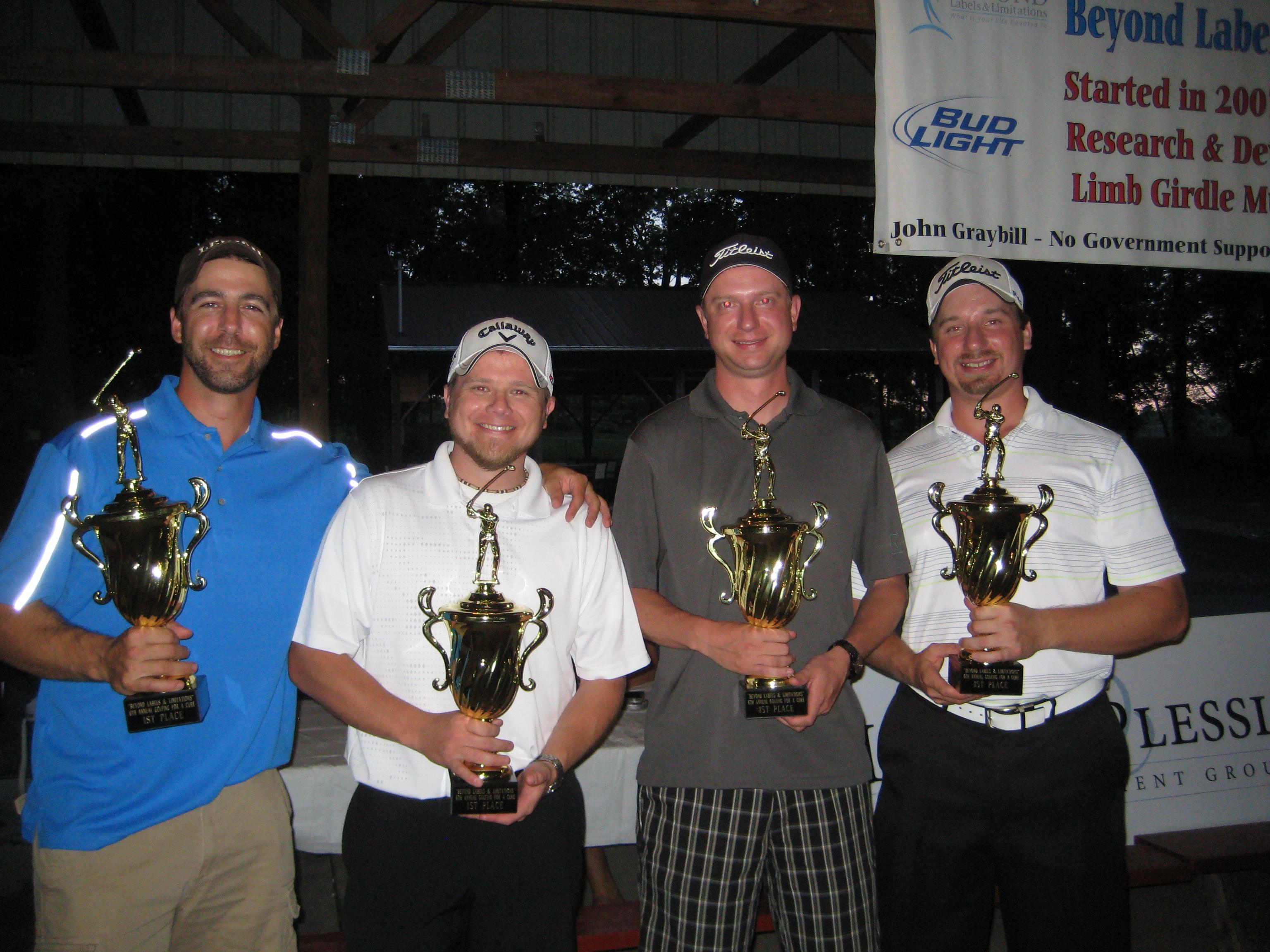 Golf 2013 1st Place
